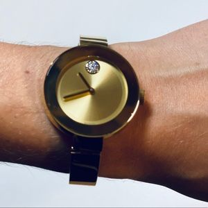 MOVADO BOLD Gold Tone Women's Watch